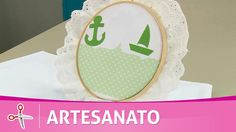 Vida com Arte | Lençol para bebê com barrado marinheiro por Deize Costa ...