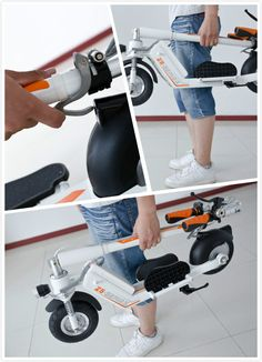 details of my new bought #Airwheel Z5 #scooter electric