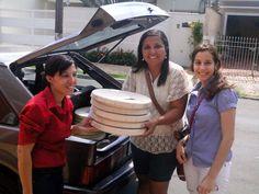 Evento da Pizza da Viver Autismo no ano de 2013.