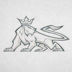 Mascot design CLIENT WIP #mascot #mascotdesign #lioness #gym #fitness #sandiego #california #characterdesign #logo #logodesign