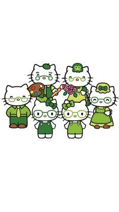 Sanrio Characters, Fictional Characters, Hello Kitty Pictures, Hello Kitty Collection, Hello Kitty Wallpaper, Career, Sleep, Wallpapers, Feelings