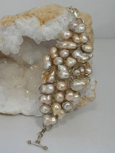 Mabe Pearl Bracelet 1