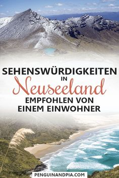 Neuseeland Sehenswürdigkeiten & Tipps eines Einwohners There is a lot to discover in New Zealand. A resident reveals his best tips for sightseeing and activities on the North and South Island of New Z New Zealand Attractions, New Zealand Itinerary, New Zealand Travel, Local Attractions, Holiday Destinations, Amazing Destinations, Travel Destinations, Europe Travel Tips, Places To Travel