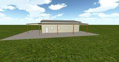 Cool 3D #marketing http://ift.tt/2ioC5J9 #barn #workshop #greenhouse #garage #roofing #DIY