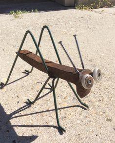 Railroad Spike Grasshopper