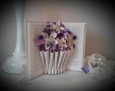 Check out this item in my Etsy shop https://www.etsy.com/listing/578269770/book-sculpture-altered-book-book-bouquet