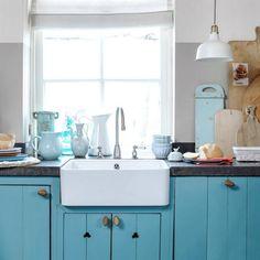 Un cottage azul en la Riviera Francesa   Decorar tu casa es facilisimo.com