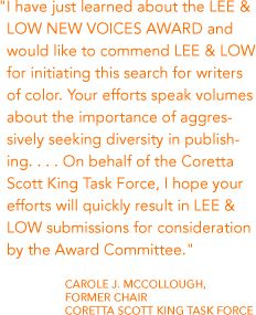 New Voices Writers Award - Minority Books | Independent Book Publishers | Writing Contest. Check for submissions guidelines!