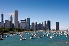Catered Cruises, a new boat sharing service, will be servicing Monroe Harbor (pictured here) as well as multiple harbors along Lake Michigan.