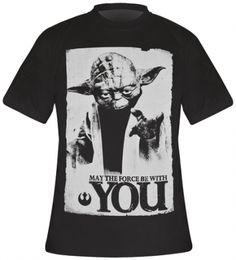 T-Shirt Mec STAR WARS - Yoda Force