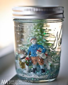 Make snow globes...maybe decorate the lid