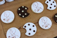 dotted cookies...yummy!