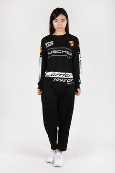 1992 Puscher Long Sleeve T-Shirt - black http://www.goodasgold.co.nz/collections/1992