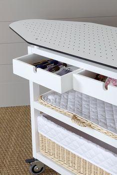 Tabla plancha con ruedas medidas 86 x 112 28 x 46 cm for Planchador de ropa