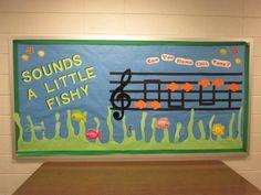 Sounds Fishy Music Bulletin Board Idea