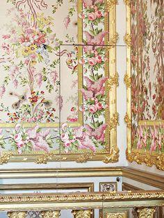 Marie Antoinette's Bedchamber at Versailles