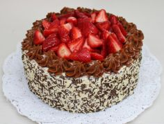 Strawberry Cake by Violeta Glace