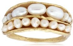Pearl ring / ShopStyle