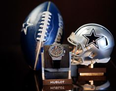 "Hublot Genève Now In The NFL With Dallas Cowboys Football Team Sponsorship - by David Bredan - get the whole scoop and see the watches now on aBlogtoWatch.com ""Just a few years after starting its sponsorship-spree in the United States – sponsorship deals with the Miami Heat and the Los Angeles Lakers basketball teams – today, Hublot announced its exclusive contract with the Dallas Cowboys, a major American football team that has won the Superbowl five times..."""