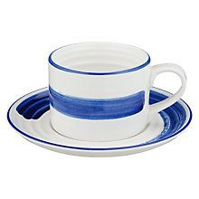 Artisan Tea Canister English Tableware Co bleu en céramique classique de rangement cuisine