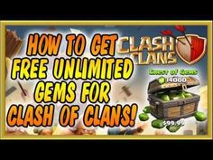 HOW TO GET FREE UNLIMITED GEMS FOR CLASH OF CLANS