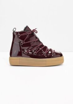 & Other Stories | Patent Leather Snow Boots