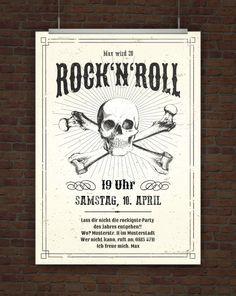 Einladung Rock n Roll