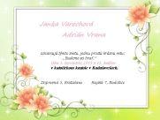 Ja spravím svadobné oznámenie - Jaspravim.sk