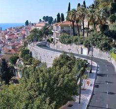 Menton France - Stayed one summer.