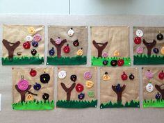 ketjusilmukoita, säkkikangasta, huopaa, angrybirdejä... Cool Kids, Kindergarten, Felt Boards, Kids Rugs, Primary Education, Quiet Books, Holiday Decor, Crochet, Fun