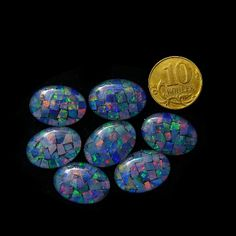 Opal Triplets 14x10 mm - also available in 18x13 mm