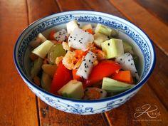salade de fruits façon Som Tam