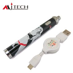 MJTech OLA X is an attractive ecigarette Kit. Big battery capacity, adjustable voltage form 3.3V to 5.5V, two charger ways. Also a nice 1.5 ohm dual coil Tank with variable airflow. MJTech OLA X owns charisma, not only well designed but also with good quality and reasonable price.