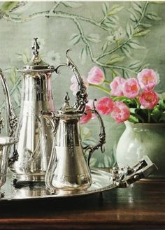 tea service from southern accents