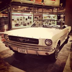 1964 Ford Mustang at the Henry Ford Museum in Dearborn, Michigan