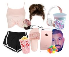"""""""Girls Only """" by ronkexx12 on Polyvore featuring NIKE, Topshop and Puma"""