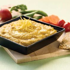 """""""Raw"""" Beanless Zucchini Hummus  Note: can also use this but with roasted eggplant instead of raw zucchini. Delish!"""