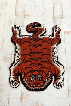 Tufted Tiger Rug; For the what the f*ck expressions