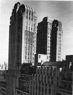 New York Architecture Images- The Majestic is a housing cooperative located at 115 Central Park West in Manhattan in New York City. The apartment building was constructed in 1930-1931 in the Art Deco style by real estate developed by Irwin S. Chanin