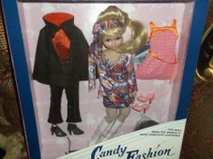 Candy Fashion Doll Circa 1960 CANDY FASHION DOLL REISSUE