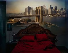 Surreal Photos Created By Projecting Stunning Outdoor Views Onto Rooms' Walls - DesignTAXI.com