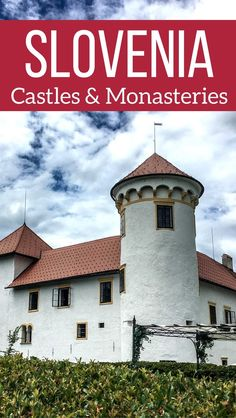 Slovenia Travel Guide - Best Slovenia Castles and Monasteries in photos - Discover the top castles in Slovenia: Ljubljana, lake Bled, Celje castles... and the lesser known such as Bogensperk, Zuzemberk and Kozjansko castles | Slovenia Itinerary | Things to do in Slovenia
