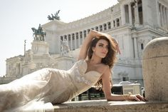 Julie Vino Bridal Roma Collection - The Coordinated Bride; wedding dress