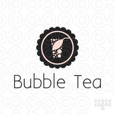 Tea Design, Cafe Design, Sign Design, Bubble Drink, Bubble Tea, Chinese Logo, Tea Logo, Soda Drink, Drinks Logo