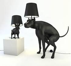 Pooping Dog Lamps   Good Boy And Good Puppy Are Two, Pooping Dog, Floor  Lamps Designed By Whatshisname. To Turn The Lamps On Or Off, One Must Step  On A Fake ...