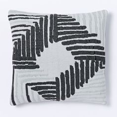 Abstract Diamond Knit Cushion Cover