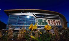 The Fiserv Forum is ready for some Bucks playoffs basketball. Stadium Tour, Milwaukee Bucks, Marina Bay Sands, Tours, Building, Basketball, Travel, Viajes, Buildings
