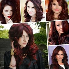 Latest hair color trends fall 2017 - http://trend-hairstyles.ru/1210.html  #Hairstyles #Haircuts #promhairstyles #Hair