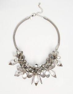 Coast Floral Gray Necklace