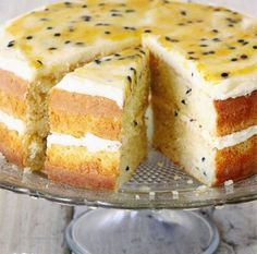 Posts about Nageregte written by Janie Monsieur and Tania Heyns Colorful Desserts, Just Desserts, Baking Recipes, Cake Recipes, Dessert Recipes, Baking Desserts, Peppermint Crisp Tart, Passion Fruit Cake, Passionfruit Recipes